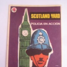 Cine: SCOTLAND YARD MAC FOLLETO DE MANO ORIGINAL ESTRENO . Lote 50095808