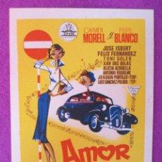 Cine: PROGRAMA CINE, FOLLETO MANO, VIDAS TRUNCADAS, SENCILLO, PM24. Lote 50205445