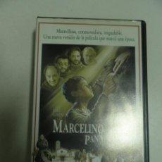 Cine: VHS ,MARCELINO PAN Y VINO CON ALFREDO LANDA. Lote 50313416