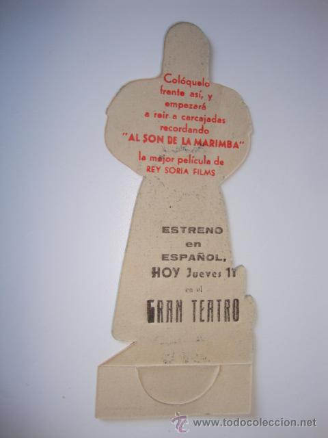 Cine: ANTIGUO PROGRAMA TROQUELADO AL SON DE LA MARIMBA IMPECABLE - Foto 2 - 50362856