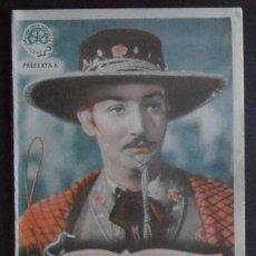 Foglietti di film di film antichi di cinema: DIEGO BANDERAS,FOLLETO DE MANO,(10488),CONSERVACION,VER FOTOS. Lote 50554881