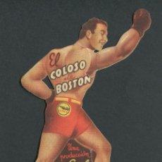 Cine: EL COLOSO DE BOSTON - GREG MAC CLURE, LINDA DARNELL - PROGRAMA TROQUELADO . Lote 50652124