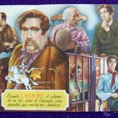 Cine: PROGRAMA DE CINE DE MANO ORIGINAL. EL SOBRINO DE DON BUFFALO BILL. DOBLE. ROSITA YARZA-CARLOS MUÑOZ.. Lote 50675386