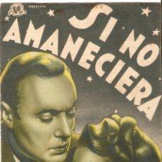 Cine: SI NO AMANECIERA - CHARLES BOYER, OLIVIA DE HAVILLAND, PAULETTE GODDARD - DIRECTOR MITCHELL LEISEN. Lote 50753702