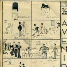 Cine: PUBLICIDAD ESTRENO EN BARCELONA FRA DIAVOLO LAUREL & HARDY (C. 1934) AUCA ALELUYA EN VERSO. Lote 194156270