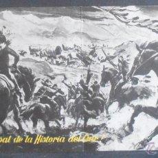 Cine: LA CONQUISTA DEL OESTE,FOLLETO DE MANO (11281),CONSERVACION,VER FOTOS. Lote 50888783