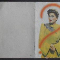 Folhetos de mão de filmes antigos de cinema: SOSPECHA,FOLLETO DE MANO (11421),CONSERVACION,VER FOTOS. Lote 50946449