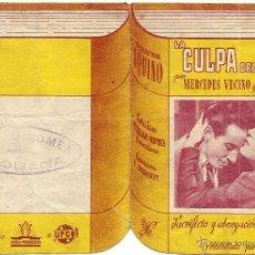 Cine: LA CULPA DEL OTRO - MERCEDES MERINO Y LUIS PRENDES - TEATRO ROMEA REQUENA (MURCIA) - TROQUELADO. Lote 50951903
