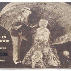Cine: PROGRAMA TARJETA METRO GOLDWYN MAYER *AMORES EN HOLLYWOOD* MARION DAVIES BING CROSBY TEATRO BRETON. Lote 50968800