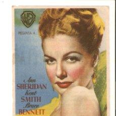 Cine: LA SENTENCIA - ANN SHERIDAN, KENT SMITH, BRUCE BENNETT - DIRECTOR VINCENT SHERMAN. Lote 50983592
