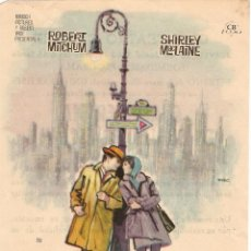 Cine: CUALQUIER DÍA EN CUALQUIER ESQUINA - ROBERT MITCHUM, SHIRLEY MACLAINE - DIRECTOR ROBERT WISE - MAC. Lote 51084298