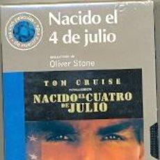 Cine: 19-1VHS19. PELÍCULA VHS. NACIDO EL CUATRO DE JULIO. Lote 51119816
