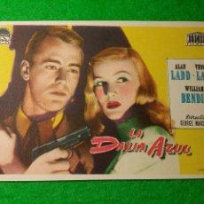Cine: PROGRAMA DE CINE LA DALIA AZUL CINEMA PROYECCIONES. Lote 51344321
