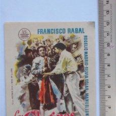Cine: FOLLETO DE MANO -LOS CLARINES DEL MIEDO-1959. Lote 51355381