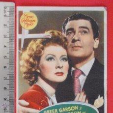 Cine: FOLLETO DE MANO -LA SEÑORA MINIVER -1947. Lote 51381855