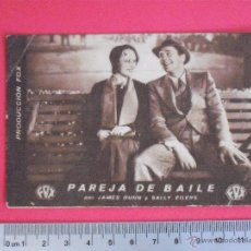 Cine: FOLLETO DE MANO -PAREJA DE BAILE -1934. Lote 51408751