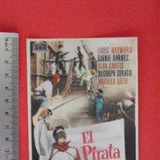 Cine: -FOLLETO DE MANO--EL PIRATA CAPRI - 1955. Lote 51423350