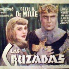 Cine: LAS CRUZADAS. Lote 51428952