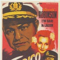 Cine: TAMPICO. SOLIGÓ. SENCILLO DE 20TH CENTURY FOX. CINE MARI - LEÓN 1956.. Lote 51548980