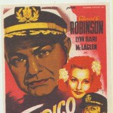 Cine: TAMPICO. SOLIGÓ. SENCILLO DE 20TH CENTURY FOX. CINE MARI - LEÓN 1956.. Lote 51549025