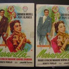 Cine: MARAVILLA, CARMEN MORELL, PEPE BLANCO, VARIANTE. Lote 51625704