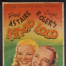 Cine: RITMO LOCO,FOLLETO DE MANO (11707),CONSERVACION,VER FOTOS. Lote 51628040
