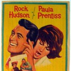 Cine: CINE IMPERIAL CINEMA PROGRAMA DE MANO SU JUEGO FAVORITO AÑO 1965 CALLOSA DE SEGURA ALICANTE, VER FO. Lote 51629314