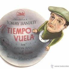 Cine: PROGRAMA TROQUELADO *EL TIEMPO VUELA* TOMMY HANDLEY EVELYN DALL. CINE MARI LEÓN. Lote 51652300