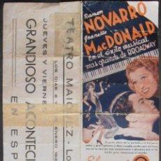 Cine: EL GATO Y EL VIOLIN,FOLLETO DE MANO (11673),CONSERVACION,VER FOTOS. Lote 51802050