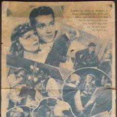 Folhetos de mão de filmes antigos de cinema: VIVIENDO EN LA LUNA,FOLLETO DE MANO (11670),CONSERVACION,VER FOTOS. Lote 51802174