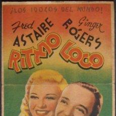 Cine: RITMO LOCO,FOLLETO DE MANO (11658),CONSERVACION,VER FOTOS. Lote 51803226