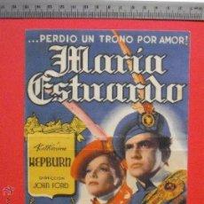 Cine: FOLLETO DE MANO -MARIA ESTUARDO - 1940. Lote 51808340