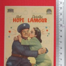 Cine: FOLLETO DE CINE - EL RECLUTA ENAMORADO 1950. Lote 51884807