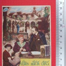 Cine: FOLLETO DE CINE - LA CALUMNIADA - 1949. Lote 51886419