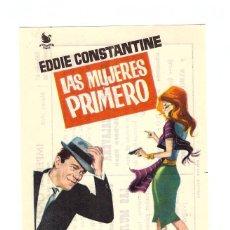 Cine: LAS MUJERES PRIMERO. SENCILLO DE INTERPENINSULAR. IMPERIAL CINEMA - CALLOSA DE SEGURA ¡IMPECABLE!. Lote 51925407