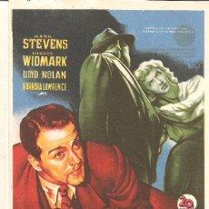 Cine: TEATRO ANDALUCIA (CÁDIZ) ESTRENO 2-10-1949 LA CALLE SIN NOMBRE MARK STEVENS-RICHARD WIDMARK. Lote 51927423