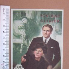 Cine: FOLLETO DE CINE -REBECA-1951. Lote 51928171