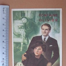 Cine: FOLLETO DE CINE -REBECA-1951. Lote 51928193