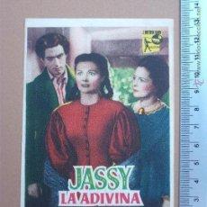 Cine: FOLLETO DE CINE -JASSY LA ADIVINA. Lote 51929184
