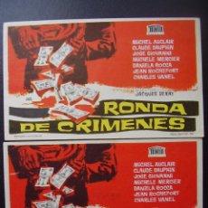 Cinema - RONDA DE CRIMENES, SINFONIA PARA UNA MASACRE, VARIANTE - 52017122
