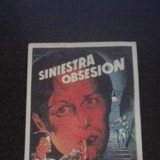 Cine: SINIESTRA OBSESION 20TH CENTURY FOX RICHARD WIDMARK . NO ESTRENADA. Lote 52103988