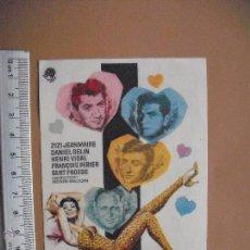 Cine: ¡OH LOS HOMBRES! - 1960. Lote 52120567