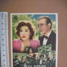Cine: LEYENDA DE FERIA -1946. Lote 52121084