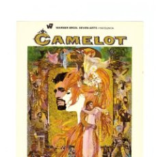 Cine: CAMELOT. SENCILLO GRANDE DE WB.. Lote 115503099