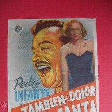 Cine: TAMBIEN DE DOLOR SE CANTA - 1952. Lote 52139878