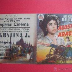 Cine: AGUSTINA DE ARAGON - 1952( EXCELENTE). Lote 52141171