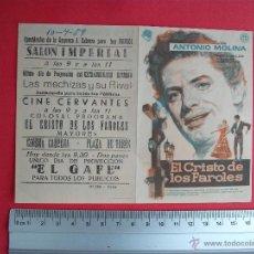 Cine: EL CRISTO DE LOS FAROLES- 1959. Lote 52159940