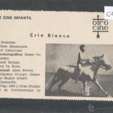Cine: CRIN BLANCA - CINE INFANTIL - OTRO CINE - (C-2253). Lote 52160892