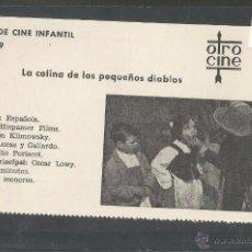 Cine: LA COLINA DE LOS PEQUEÑOS DIABLOS - CINE INFANTIL - OTRO CINE - (C-2255). Lote 52160944