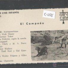 Cine: EL CAMPEON - CINE INFANTIL - OTRO CINE - (C-2275). Lote 52161446